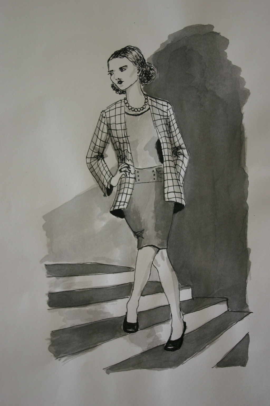Lady On The Stair, By Rachel Richardson